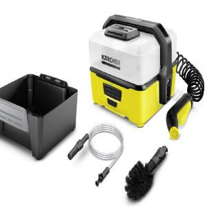 Cechy i zalety Myjka terenowa OC 3 Mobile Outdoor Cleaner Myjka terenowa – zestaw Adventure Box